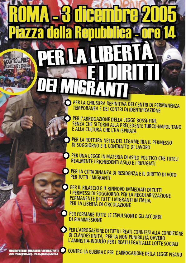 ufficio migranti - iniziative